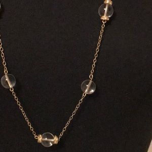 """* 3 for $20 * JCREW Gold Necklace 33""""."""